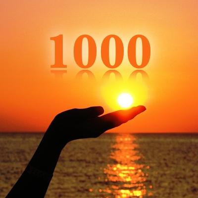 Numerología 1000 / Significado del número 1000