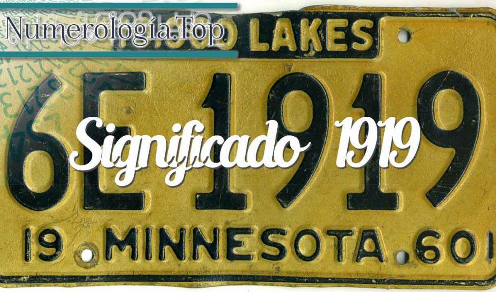 Significado del 1919 (Número de angel y Vida personal)