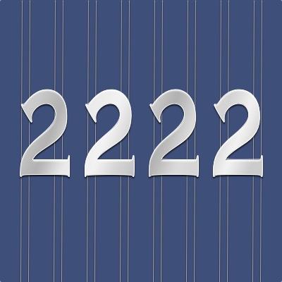 Significado en Numerología 2222