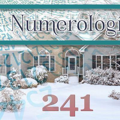 Numerología 241 / Significado del número 241