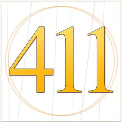 Numerología 411 / Significado del número 411