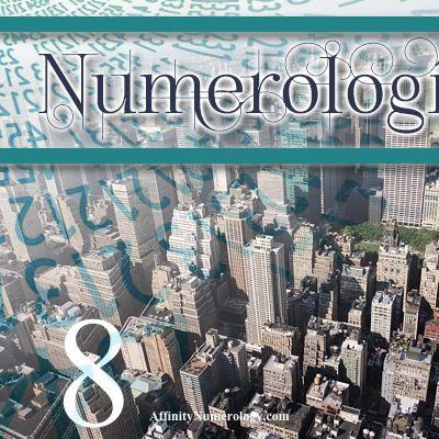 Numerología 8 / Significado del número 8