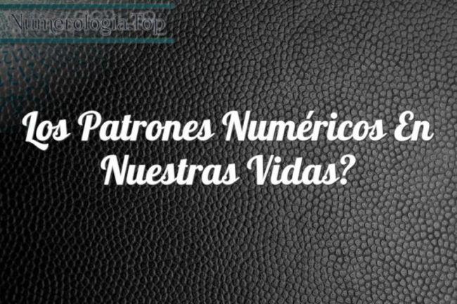 Patrones numéricos y simbolismo