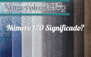 Número 120 Significado