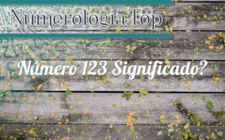 Número 123 Significado