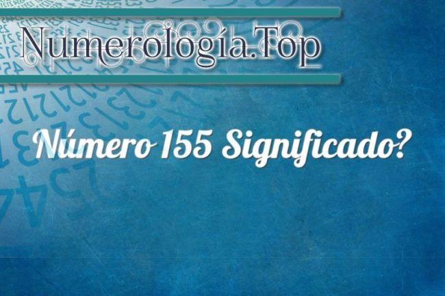 Número 155 Significado