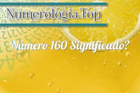 Número 160 Significado