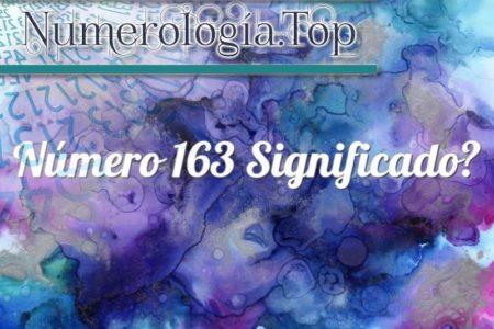 Número 163 Significado