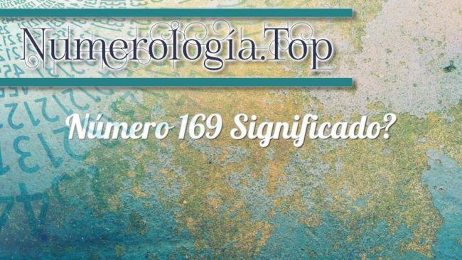 Número 169 Significado