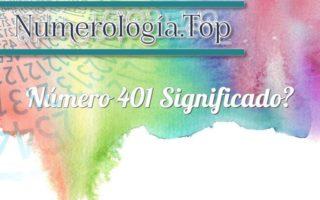Número 401 Significado