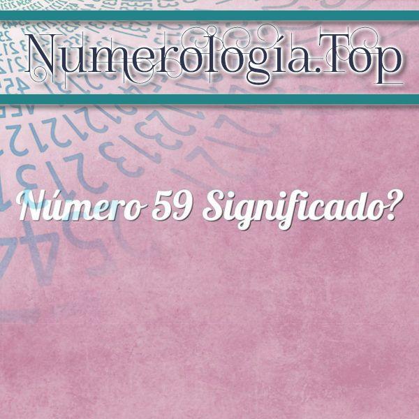 Número 59 Significado