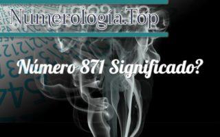 Número 871 Significado