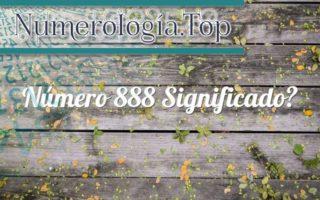 Número 888 Significado