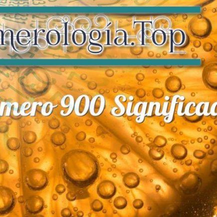 Número 900 Significado