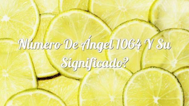 Número de Ángel 1064 y su Significado