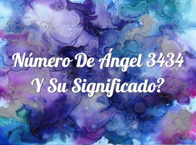 Número de Ángel 3434 y su significado