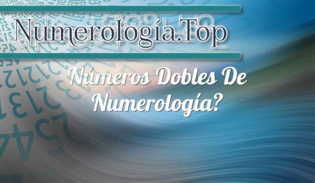 Números Dobles de Numerología