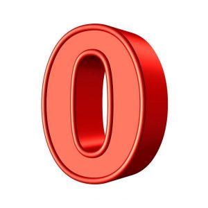 Significado del número 0 (zero)