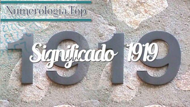 Numerología angelical 1919 y Amor