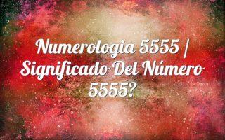 Numerología 5555 / Significado del número 5555