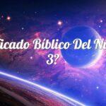 Significado Bíblico del Número 3